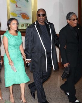 Sam Russell - Stevie Wonder and his wife fro the Washington DC Correspondents Dinner
