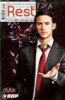 Sam Russell - Milo Ventimiglia Comic Book Cover