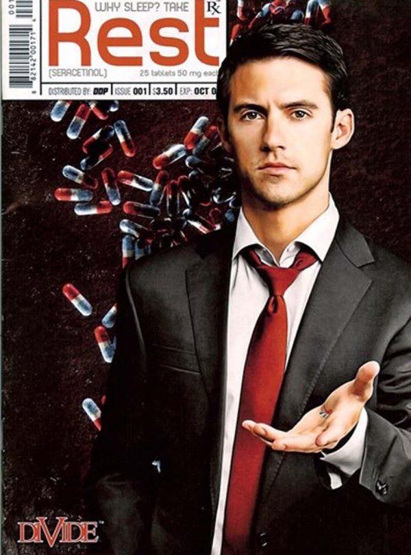 Sam Russell - Milo Ventimiglia Comic Book Cover