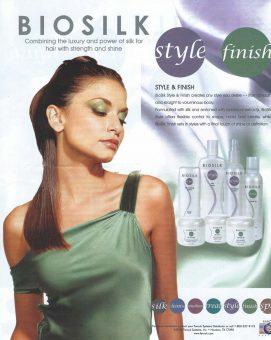 Sam Russell Portfolio - BIOSILK Ad Campaign