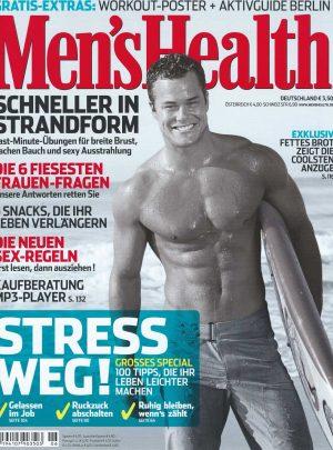 Sam Russell Portfolio - Mens Health Germany