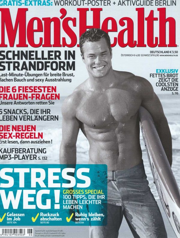 Sam Russell Portfolio - Mens Health Germany
