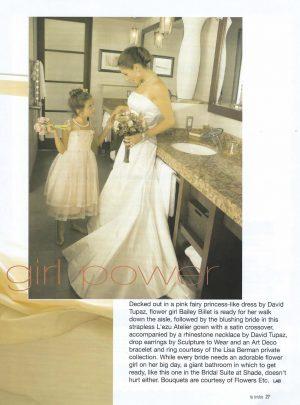 Sam Russell Portfolio - LA Brides Editorial