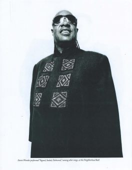 Sam Russell Portfolio - Stevie Wonder for The New Yorker