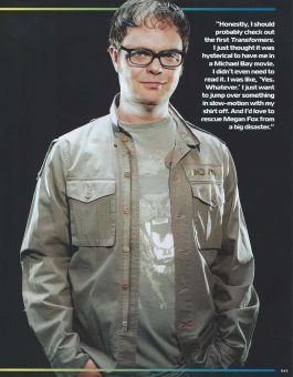 Sam Russell Portfolio - Greg Grunberg wearing archived costume from Star Wars for Geek Monthly