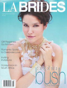 Sam Russell Portfolio - Sophia Bush for LA Brides. Photography by Charles Bush