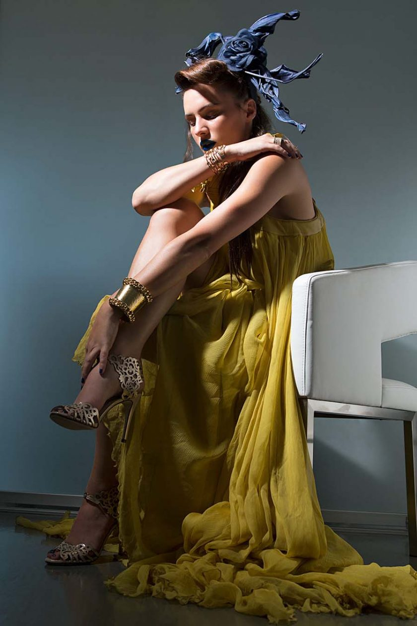 Sam Russell Portfolio - Eve Mauro for Fashion Affair Magazine. Photography by Brie Childers