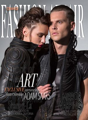 Sam Russell Portfolio - Editorial for Fashion Affair Magazine. Photography by Brie Childers